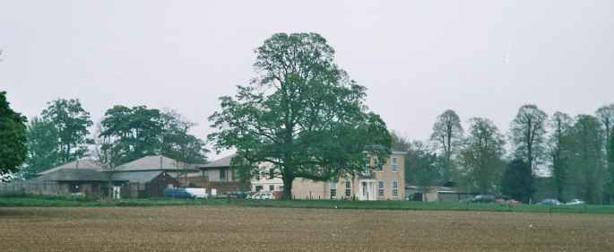 St John house from the A143.