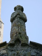 south porch statue