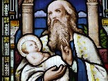Simeon and the infant Christ