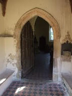 south doorway