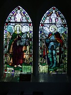 St Cecilia and St George